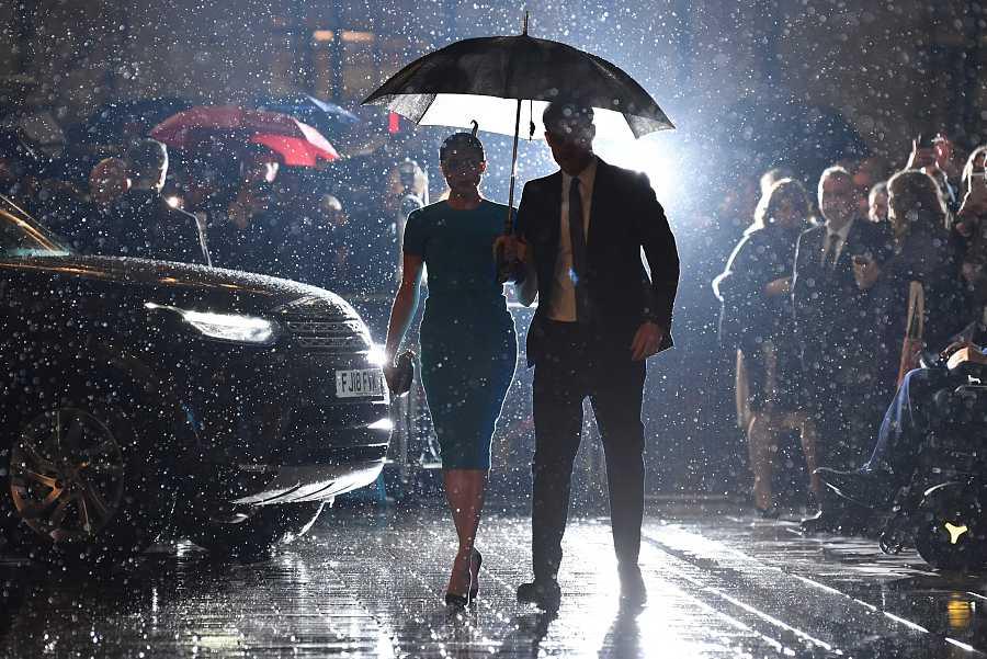 Meghan Markle y el Príncipe Harry reaparecen en un acto público en Inglaterra