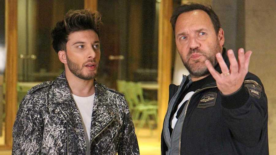 Blas habla con Martijn Nieman, director de las postales de Eurovisión