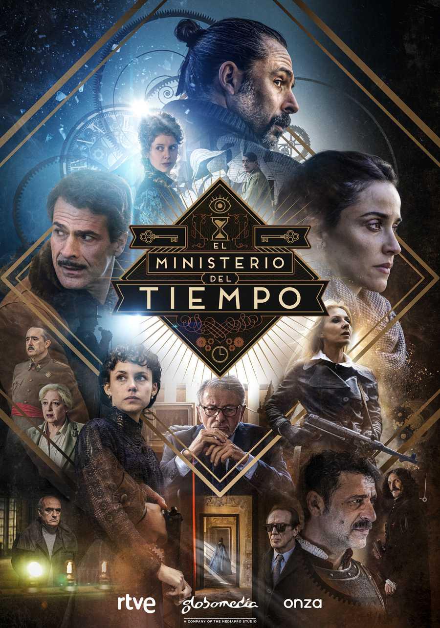 Cartel oficial de la cuarta temporada de 'El Ministerio del Tiempo'