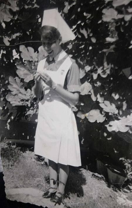 Ángela Fernández, enfermera.