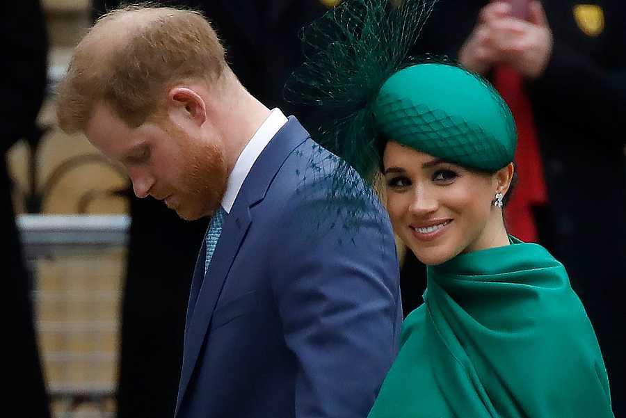 Los duques de Sussex han acudido junto a la familia real británica a los actos del día de la Commonwealth.