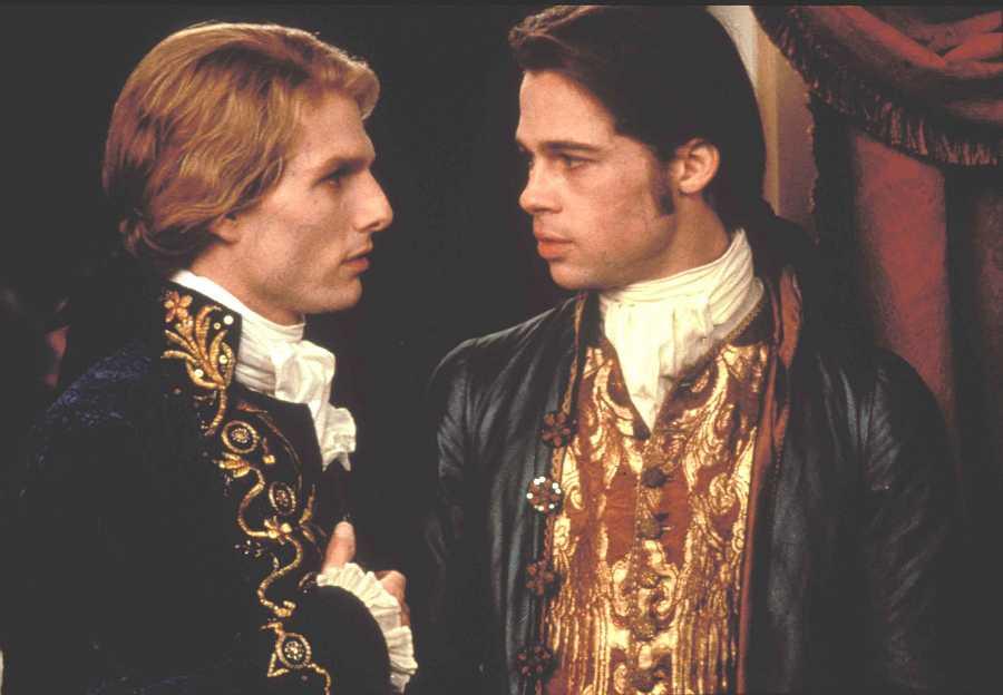 Tom Cruise y Brad Pitt en 'Entrevista con el vampiro'