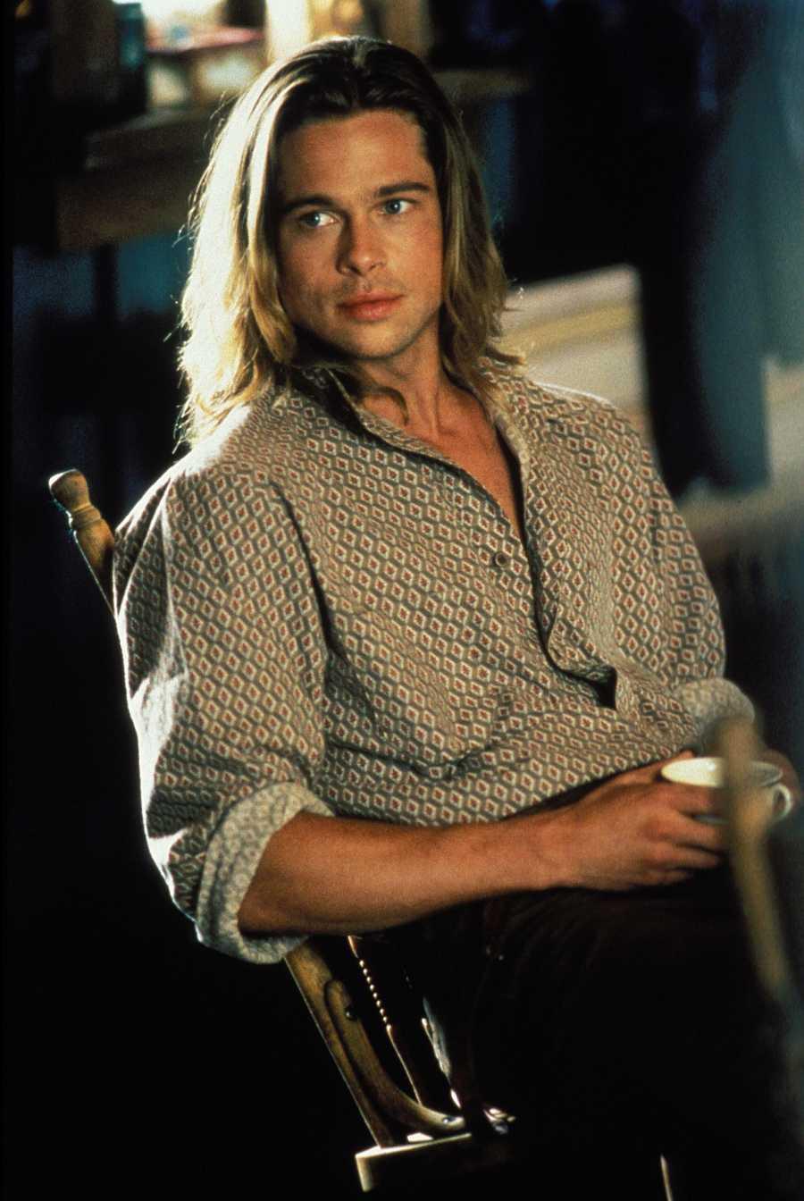 Brad Pitt en 'Leyendas de pasión'