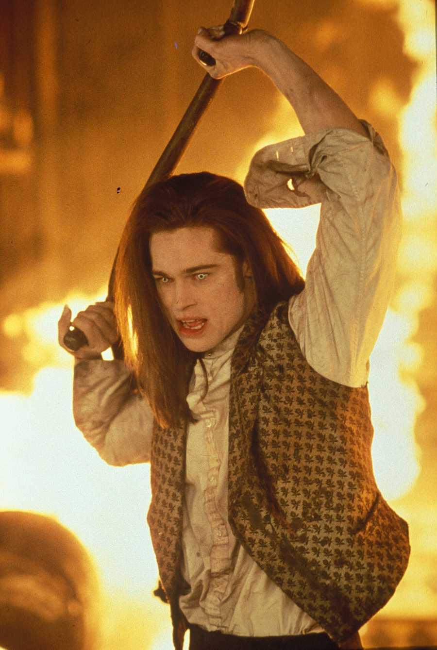 Brad Pitt en 'Entrevista con un vampiro'