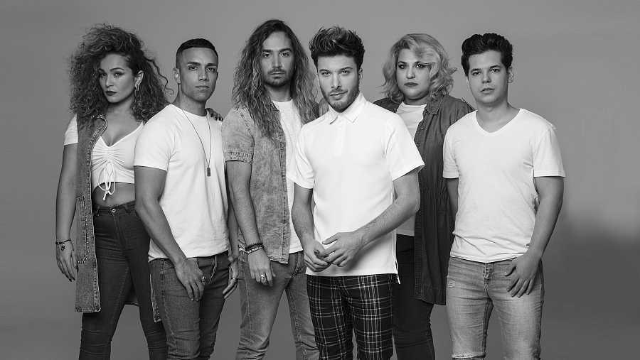 Blas Cantó presenta a su equipo para Eurovisión en Róterdam