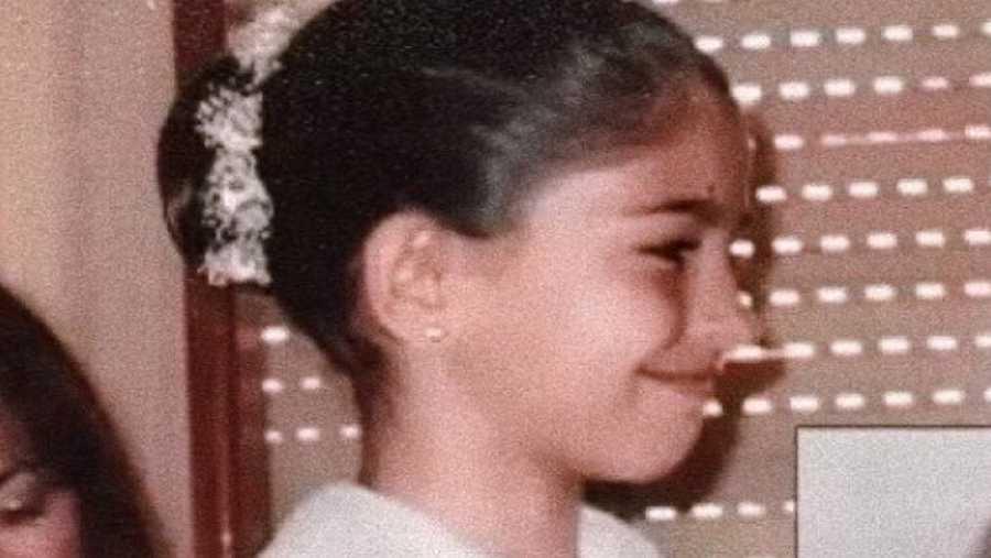 Anajú de OT 2020 cuando era niña
