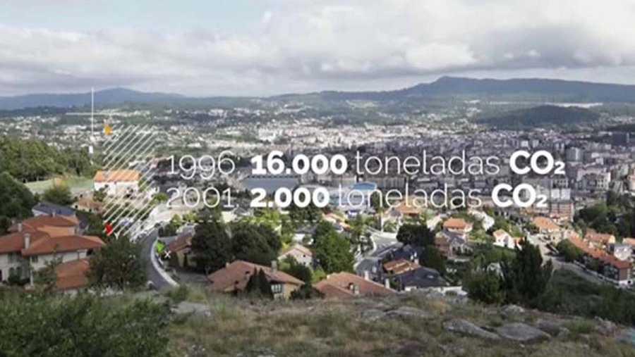 Pontevedra ha reducido dos tercios las emisiones de CO2