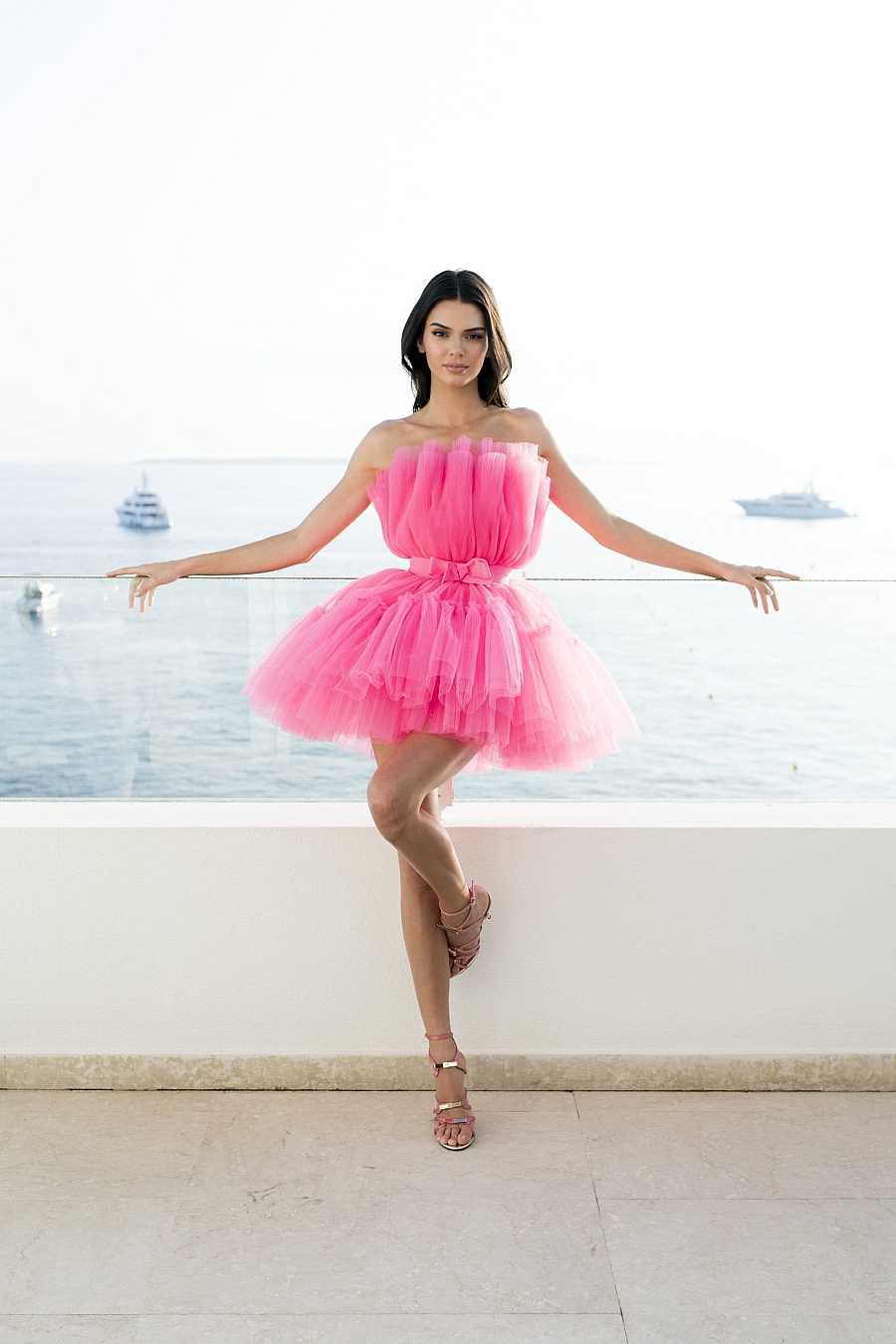 Kendall Jenner, imagen de Giambattista Valli