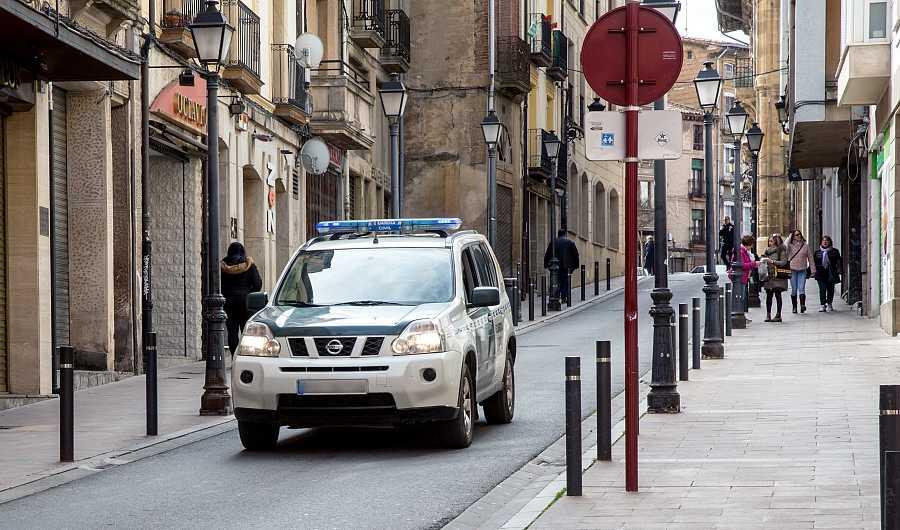 Una calle de la ciudad riojana de Haro (La Rioja).