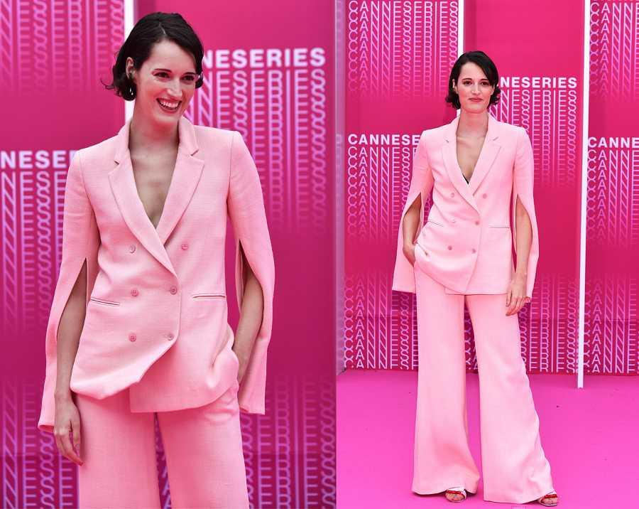 Phoebe Waller-Bridge en el Festival de series de Cannes