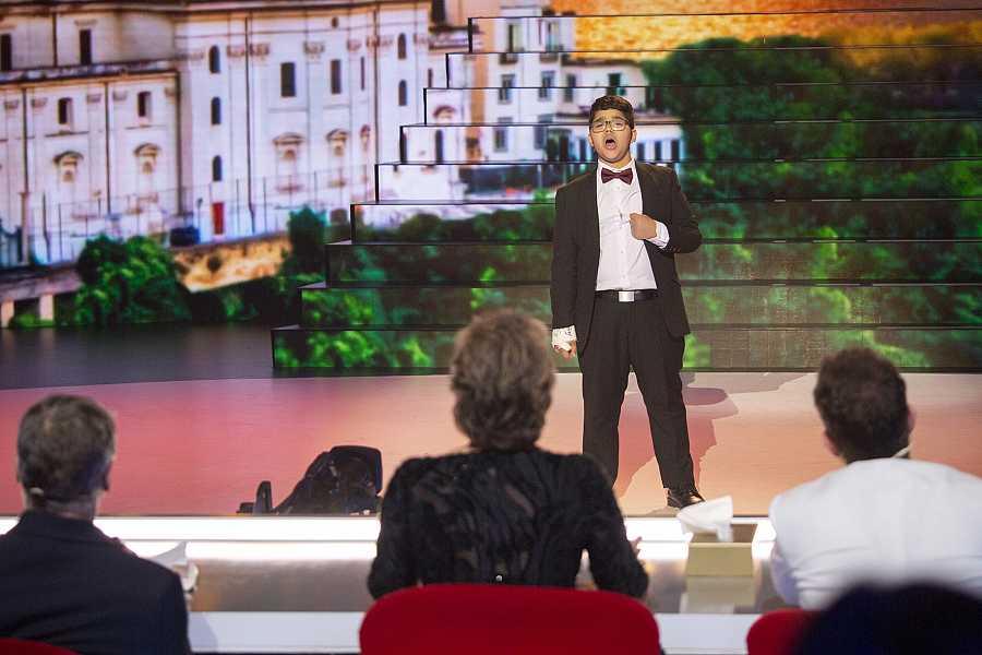 Jesús Gabriel emociona al público con su potente voz y se convierte en el segundo ganador de 'Prodigios'