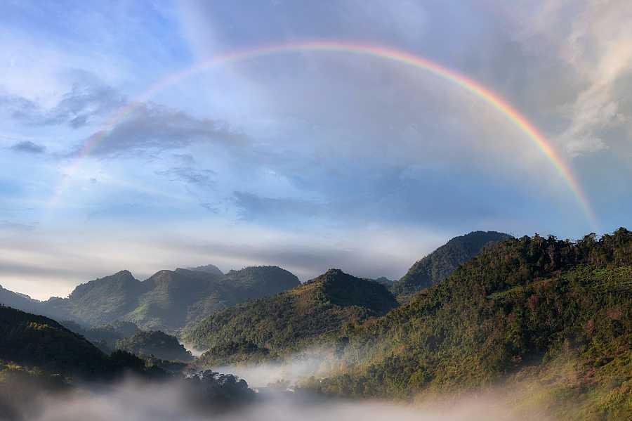 Curiosidades sobre el arcoiris