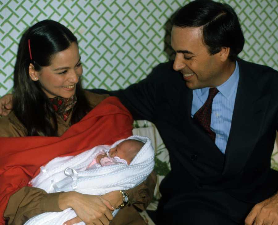 Carlos Falcó e Isabel Preysler con Tamara