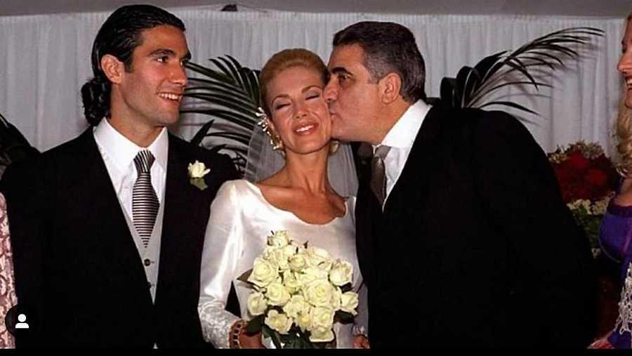 Ingrid Asensio recuerda el día de su boda para homenajear a su suegro, Lorenzo Sanz, muerto en la pandemia de coronavirus