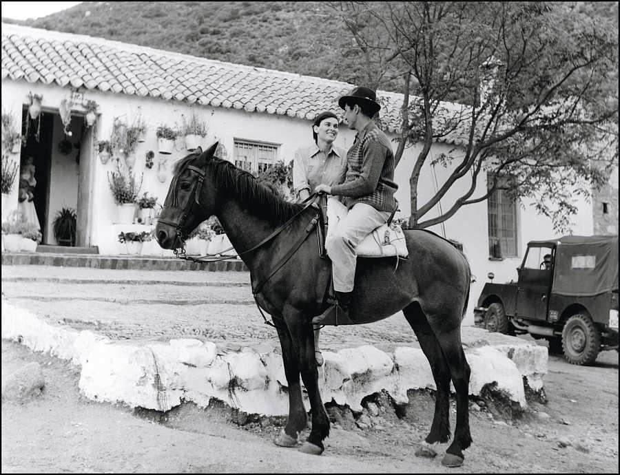 Lucía Bosé y Luis Miguel Dominguín