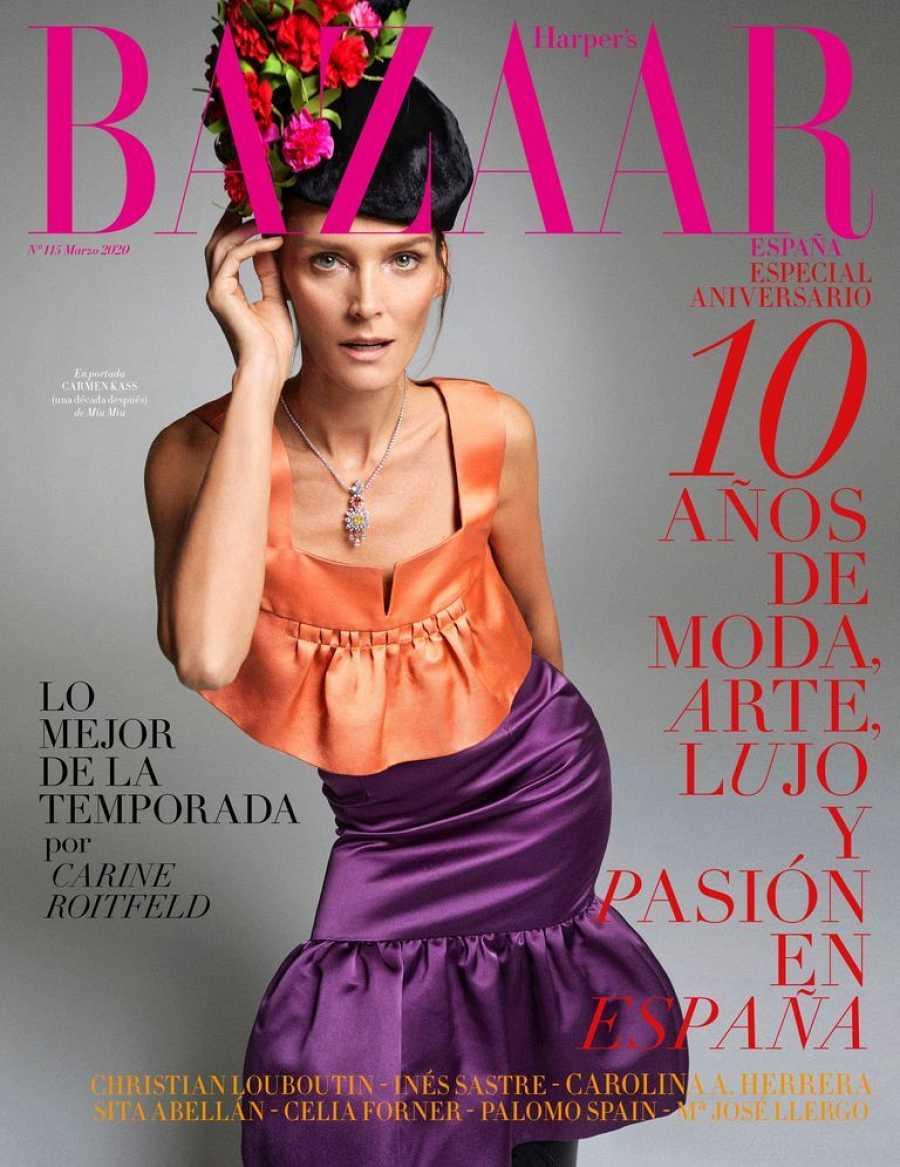 El número de marzo de Harper's Bazaar, disponible para descarga gratuita