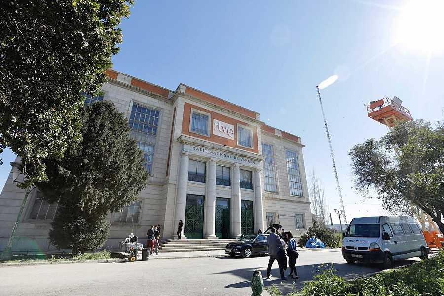 El edificio de RNE en Arganda es el nuevo Ministerio del Tiempo