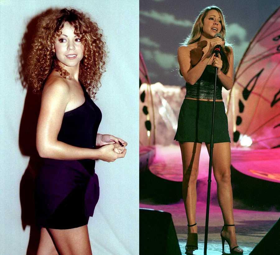 Mariah Carey en la década de los 90