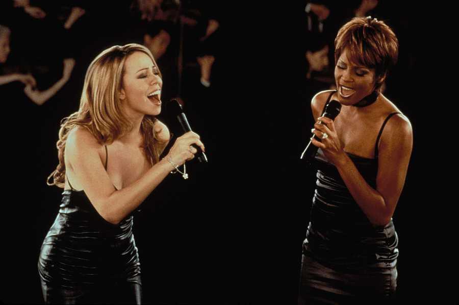 Mariah Carey y Whitney Houston, dos de las mejores voces de la Historia