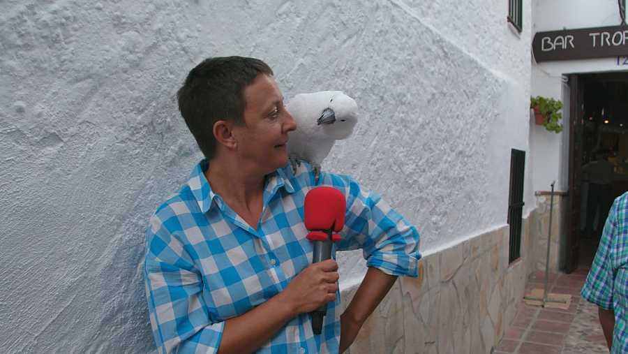 Eva Hache en Comares (Málaga)