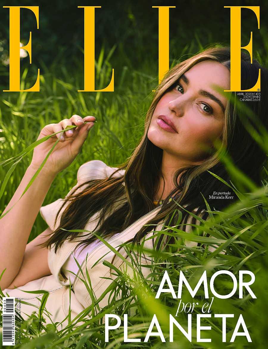 Miranda Kerr en la revista Elle
