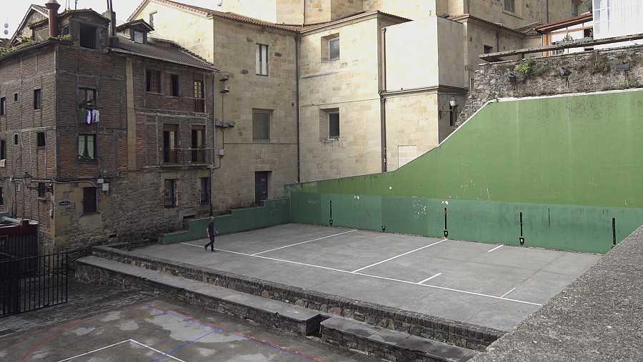 Frontón en San Sebastián