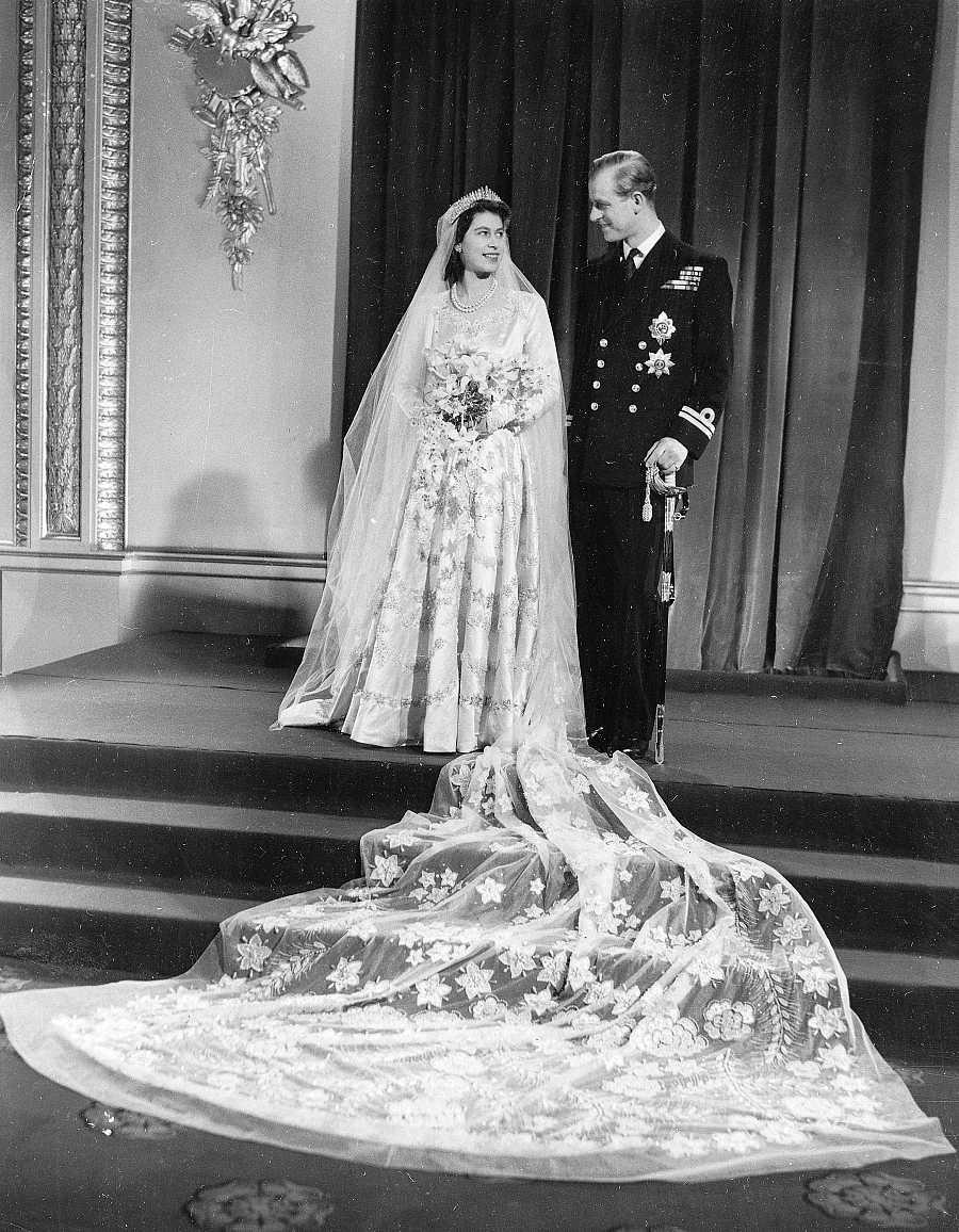 Boda de Isabel II y Felipe de Edimburgo