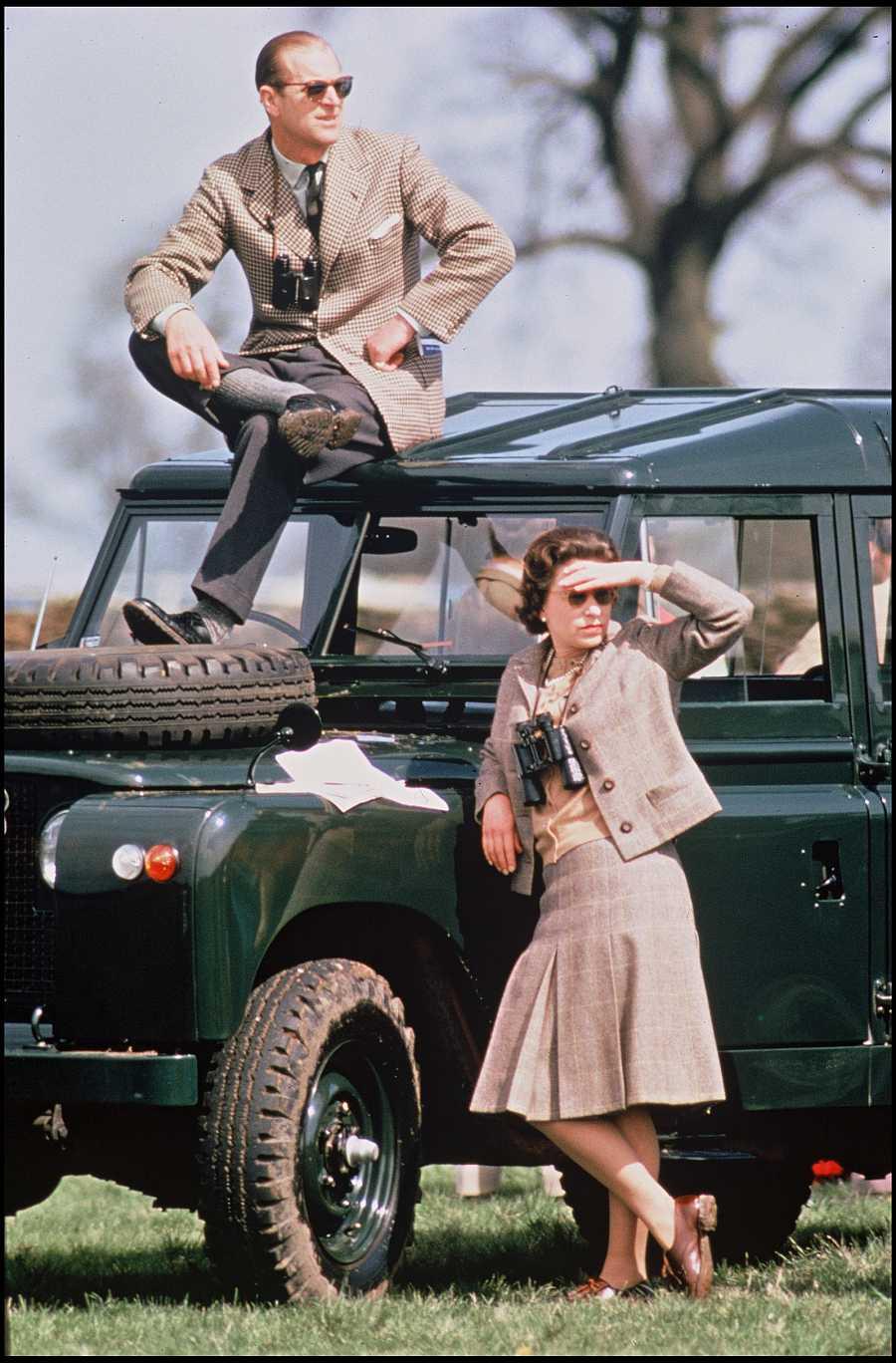 Felipe y la reina Isabel en 1968