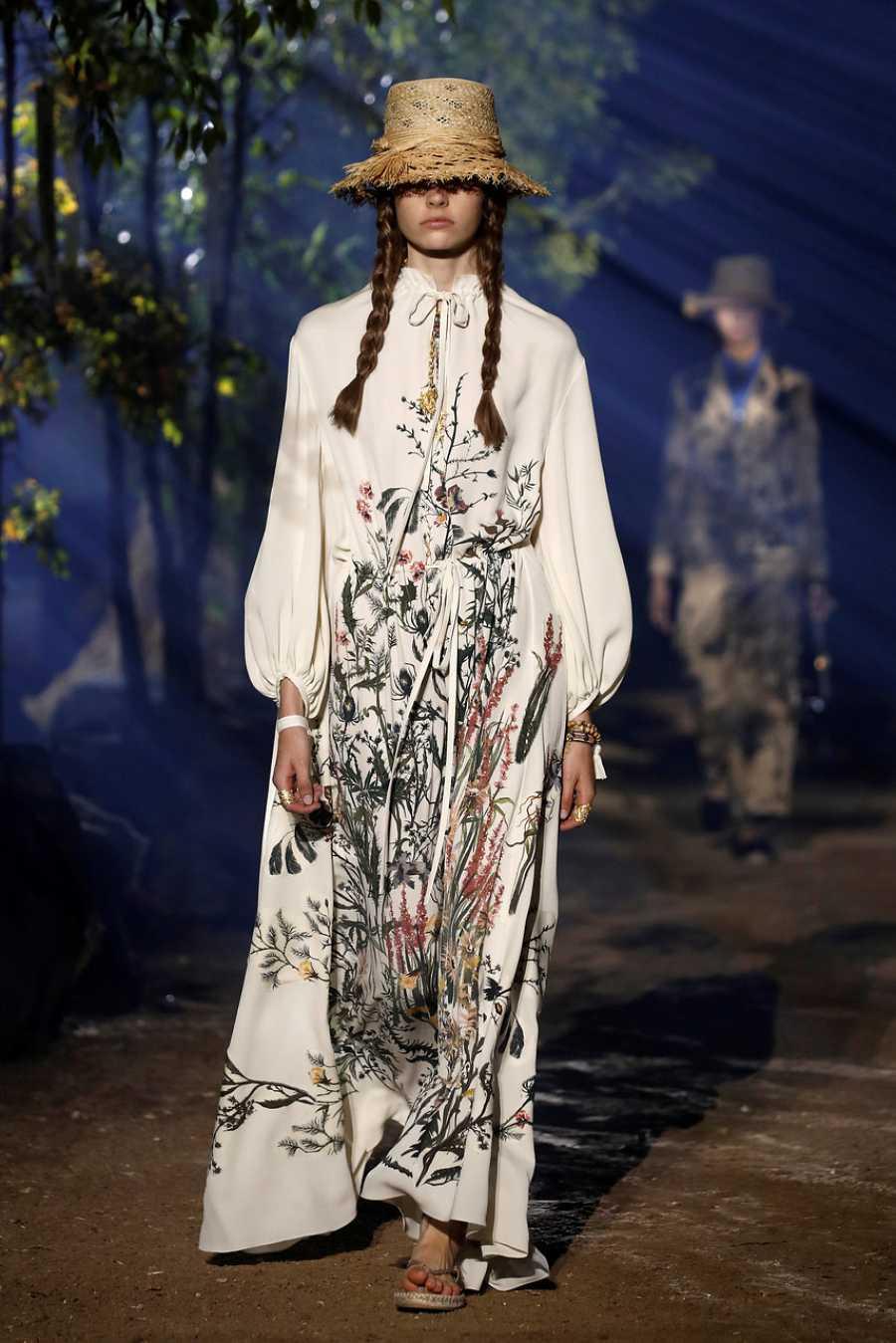 Vestido túnica de Dior