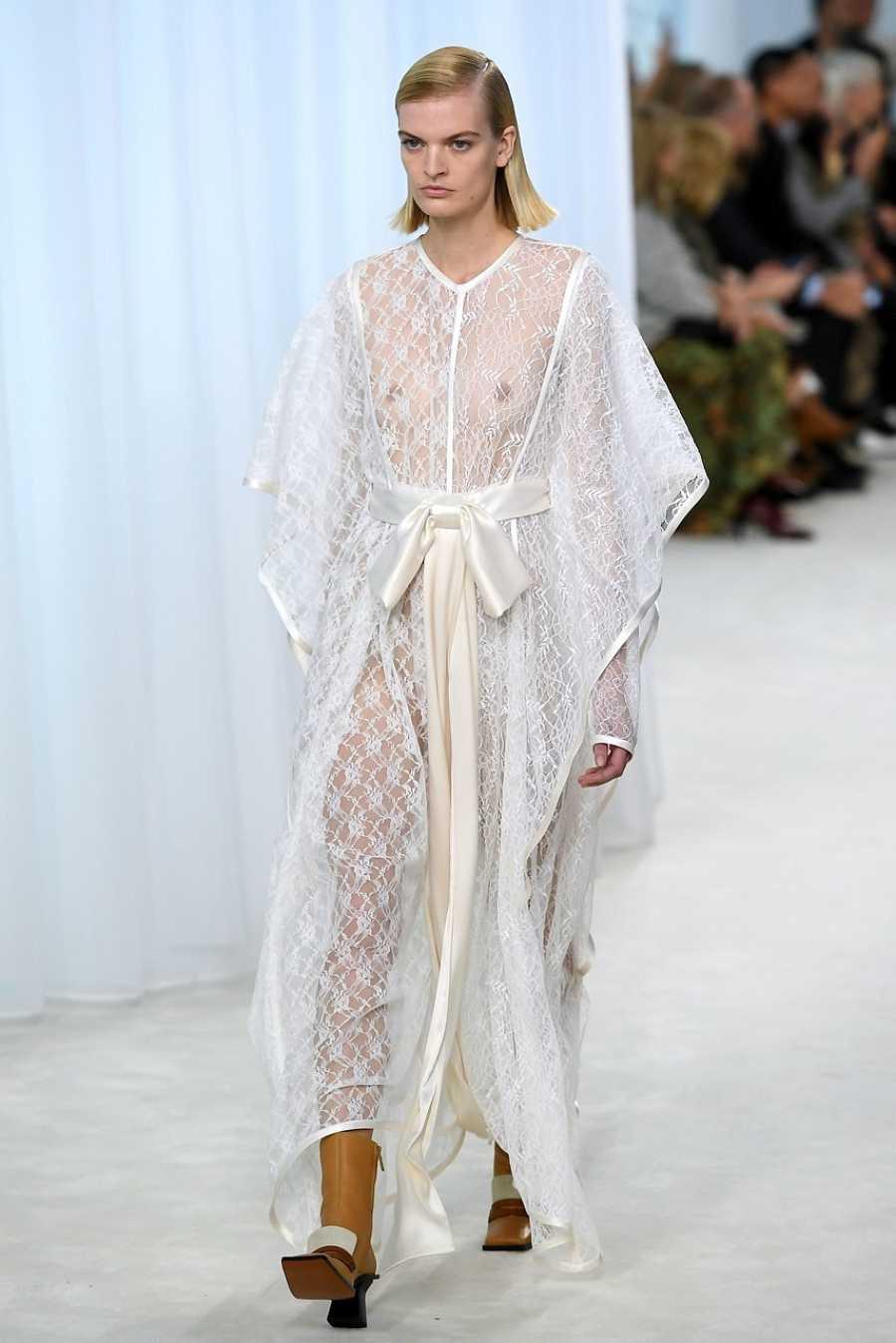 Vestido túnica de Loewe