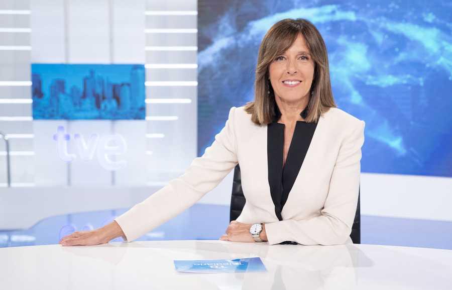 Telediario 1, con Ana Blanco