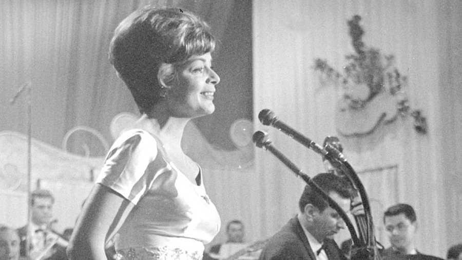 Lus Assia, primera ganadora de Eurovisión en 1956