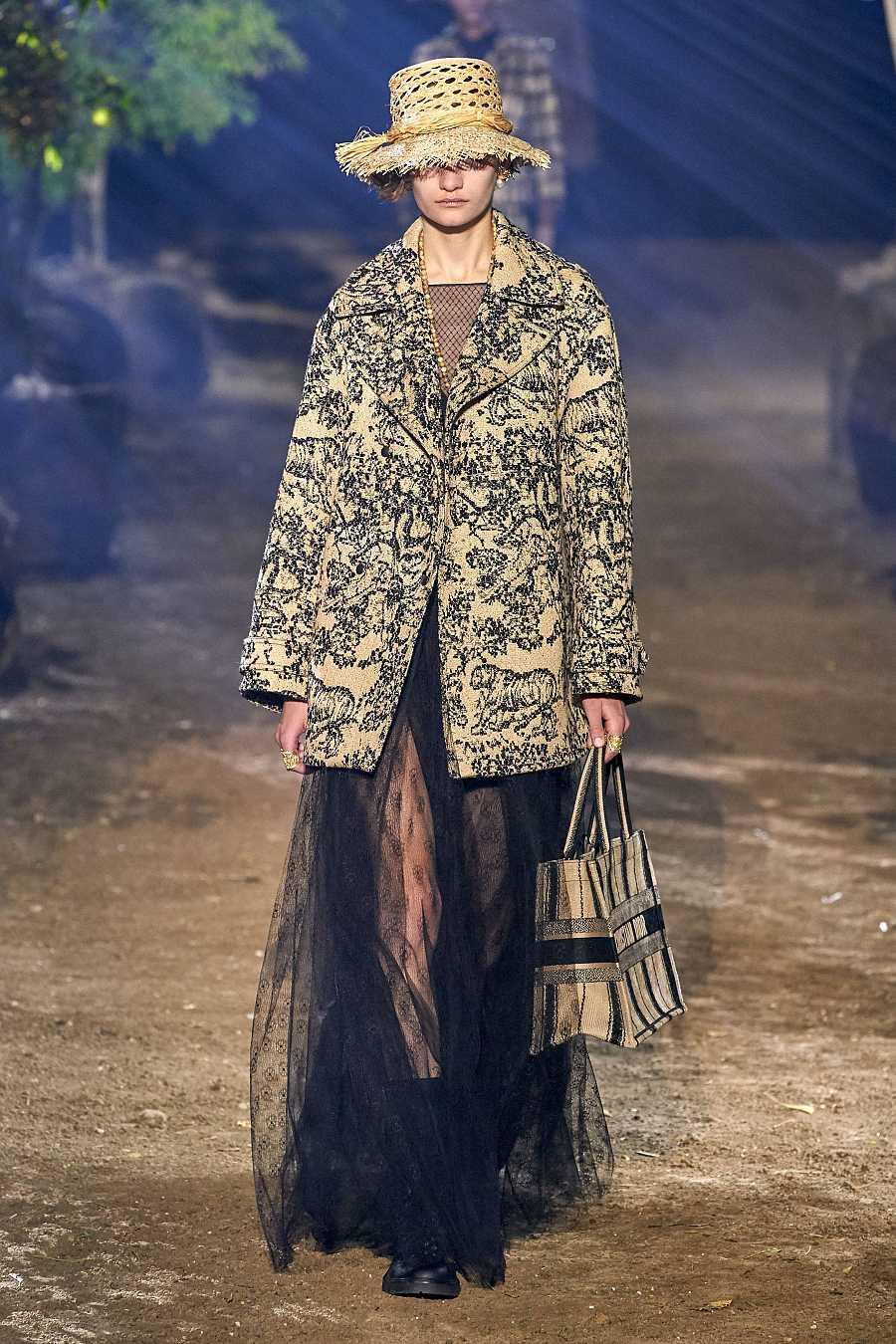 Falda lencera de Dior