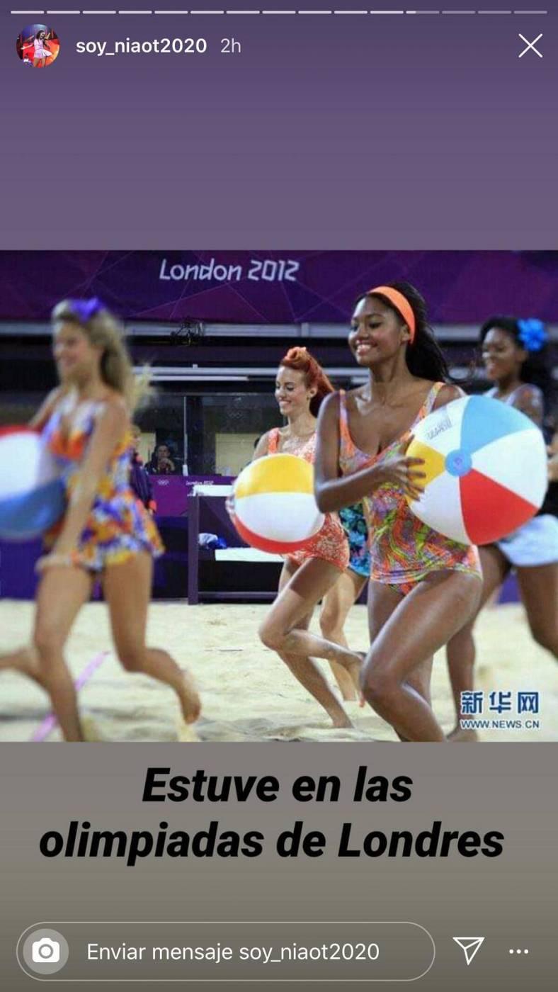 Nia en las Olimpiadas de Londres