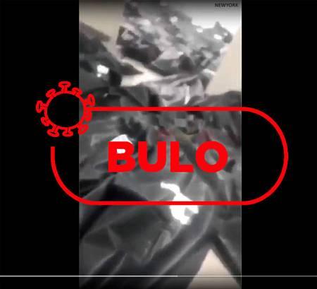 Captura del falso que está moviéndose en redes de una supuesta morgue en Madrid o Nueva York.