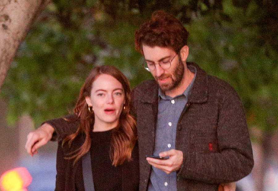 Emma Stone y Dave McCary han tenido que aplazar su boda por la pandemia de coronavirus