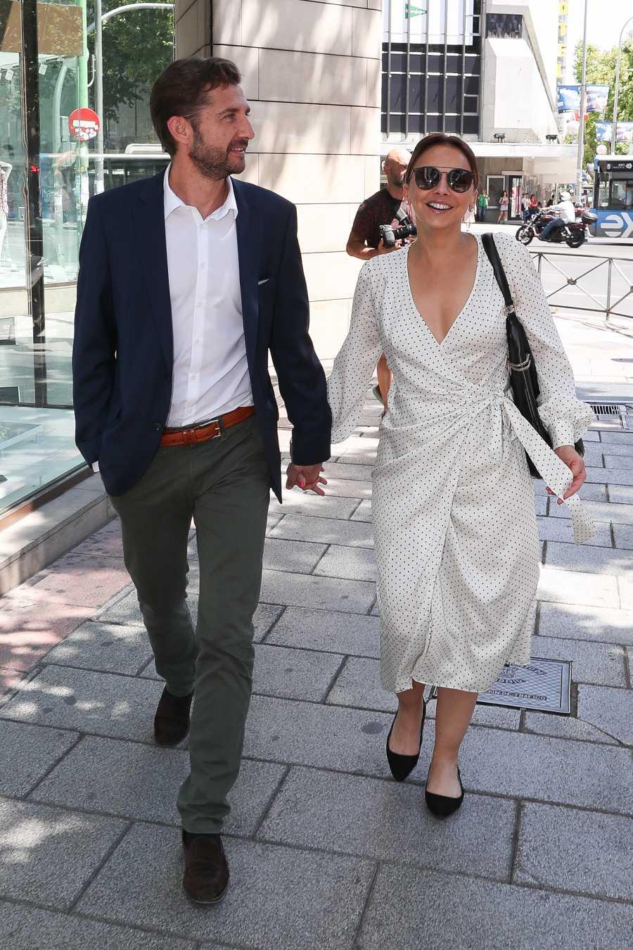 Chenoa celebraba su 44º cumpleaños con Miguel Sánchez Encinas, su novio, en Madrid
