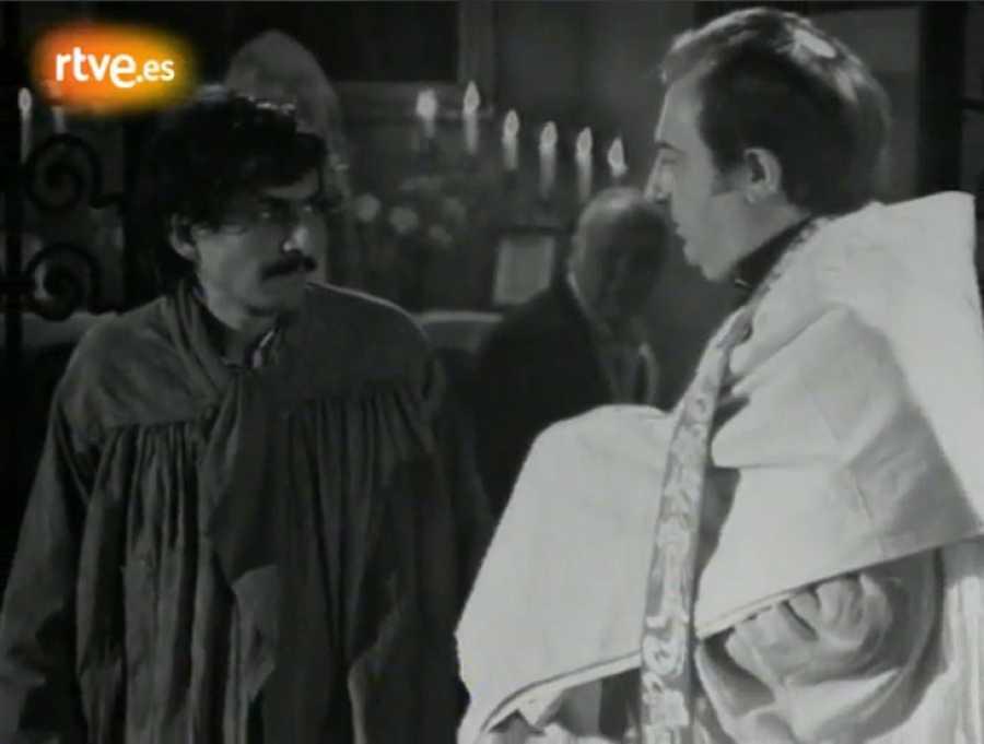 Benet i Jornet va sortir per primer cop a la televisió, com actor a Josapfat, amb Joan Borràs