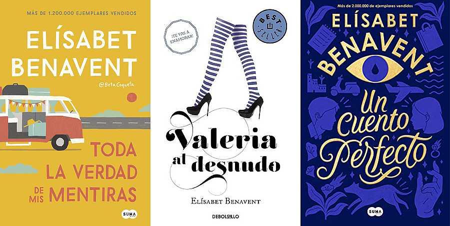 La escritora Elísabet Benavent es un todoterreno de ventas
