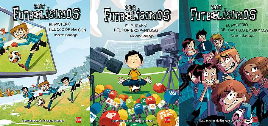 'Los Futbolísimos' continúa siendo la saga favorita de niños y niñas