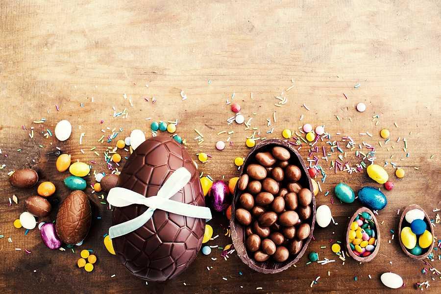 El huevo de pascua es uno de los alimentos más icónicos de estas fechas