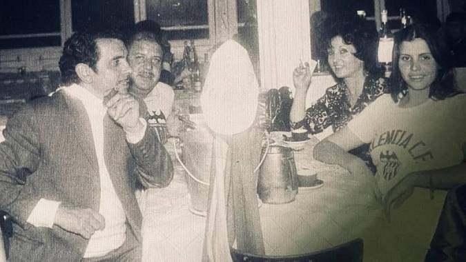 Mari Tere Berenguer, en una imagen de hace 50 años.