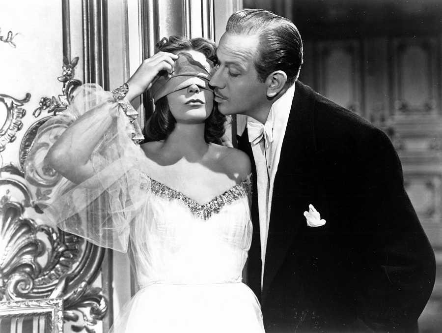 Greta Garbo con Melvyn Douglas en Ninotchka (Ernst Lubitsch, 1939)
