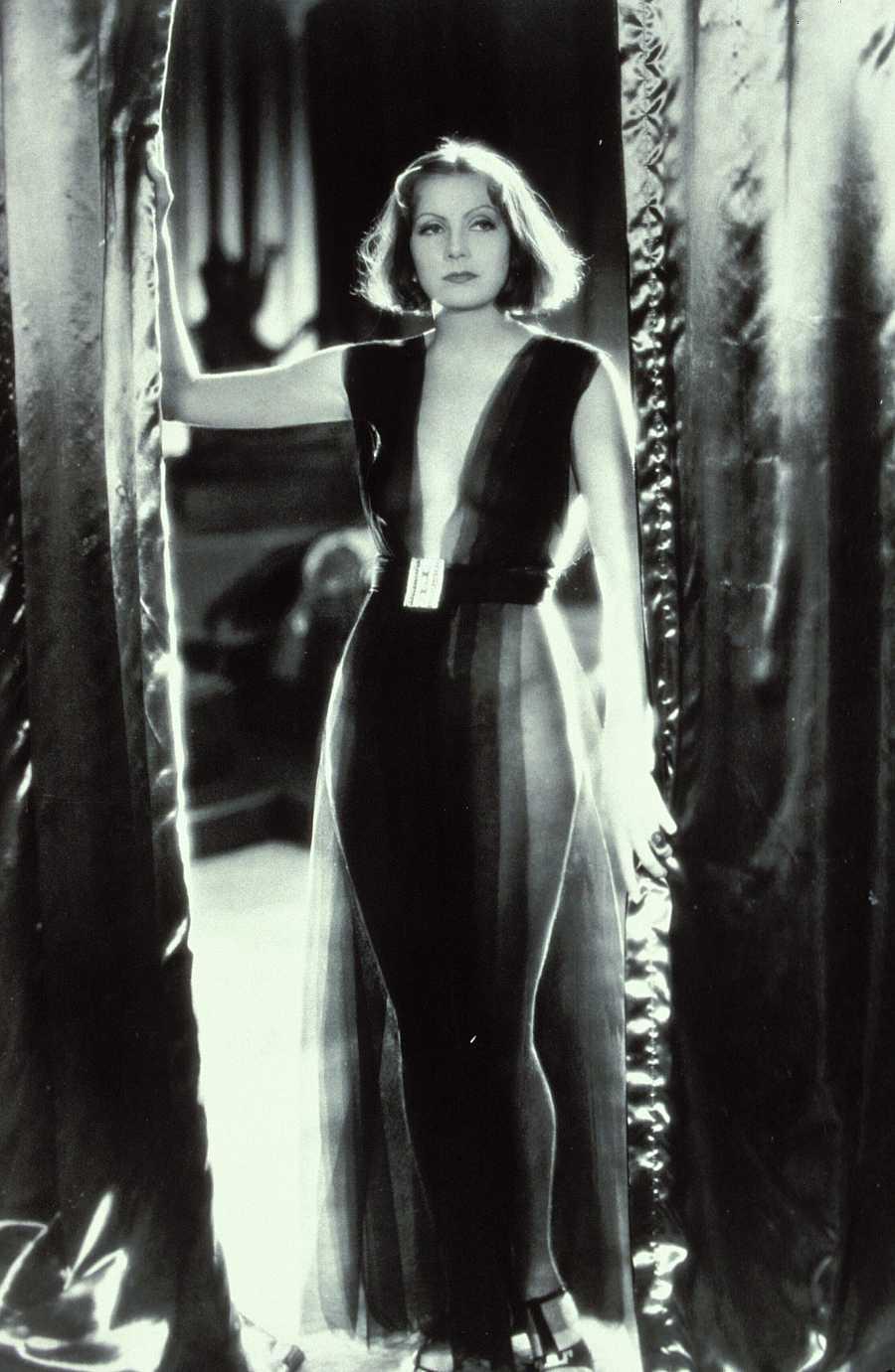 Greta Garbo como 'Mata Hari' en los estudios de la Metro Goldwyn Mayer