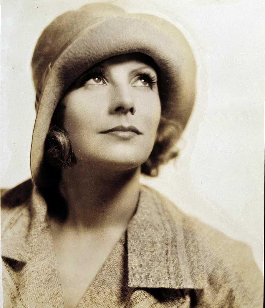 Retrato de Greta Garbo en los años 30