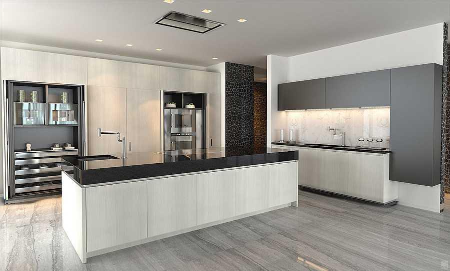 Cocina de la nueva mansión de los Beckham
