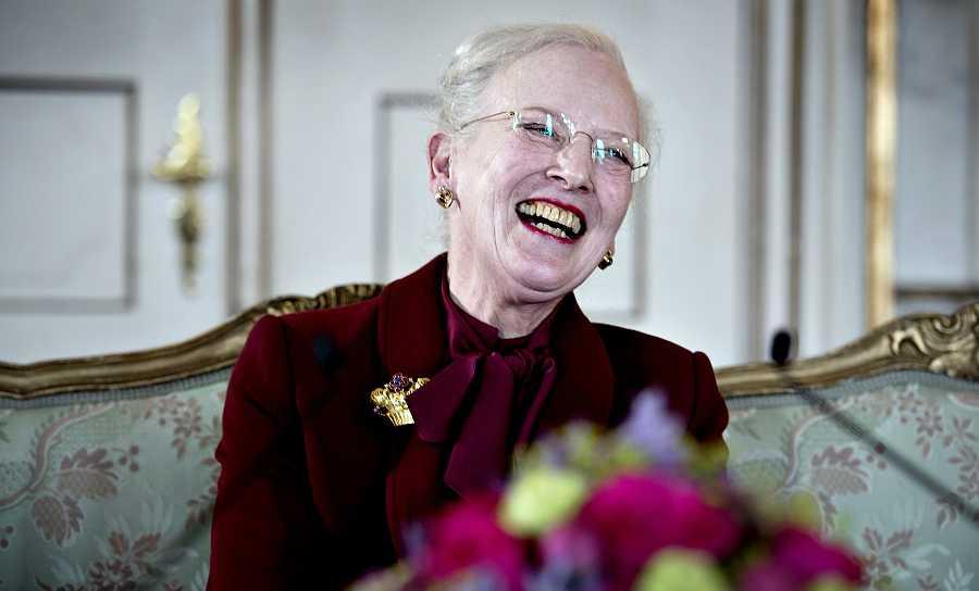 Margarita II en su 75 cumpleaños