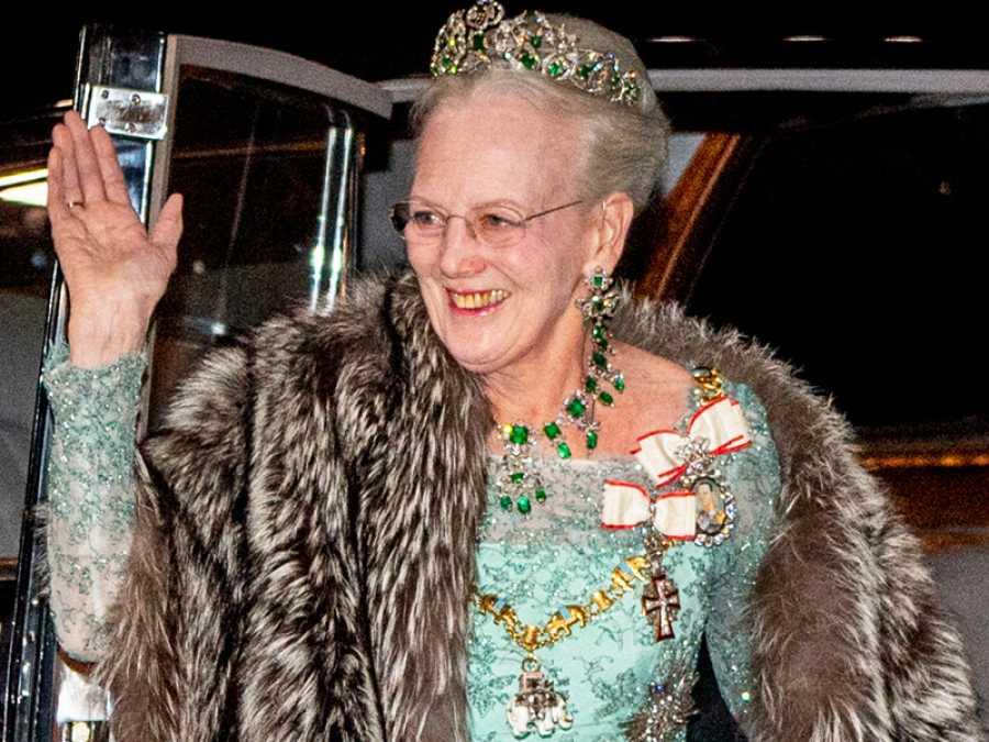 La reina Margarita de Dinamarca
