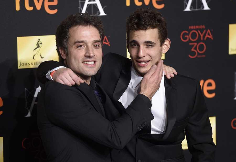 Daniel Guzmán y Miguel Herrán en la 30 Edición de la Gala de los Goya