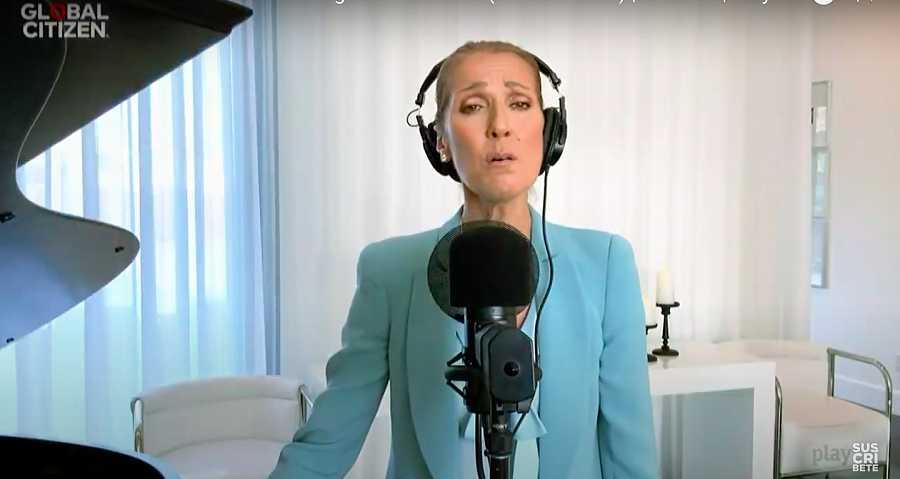 Céline Dion, broche del concierto benéfico de la OMS contra el coronavirus